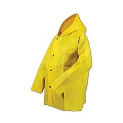 RUBBERIZED RAIN COAT
